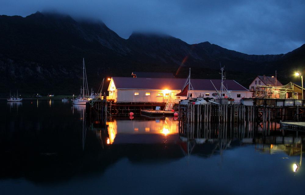 donker in noorwegen
