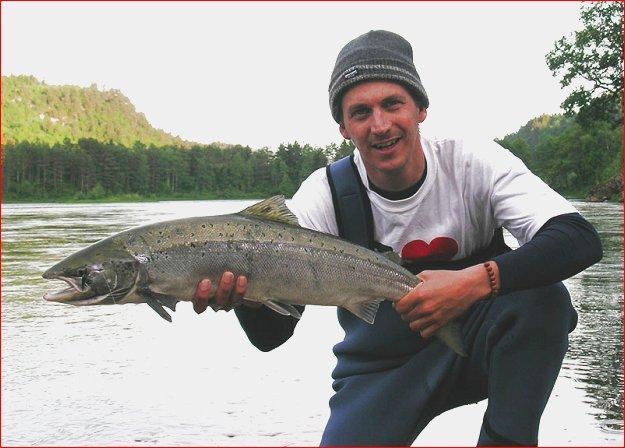 zalm vissen techniek
